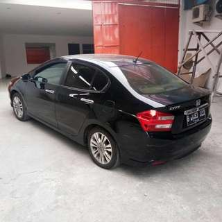 city E A/T 2012 hitam
