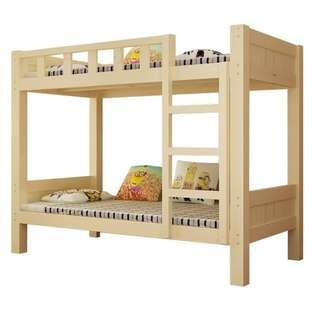 實木床 2尺半床 松木床 雙層床 碌架床