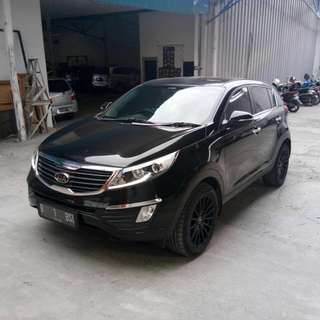 kia sporttage SE 2.0 a/t hitam