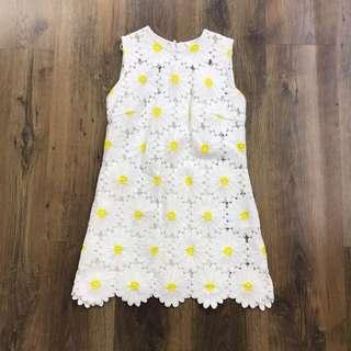 二手 DOLCE & GABBANA 白色連衣裙 Size S