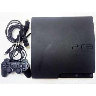 Sony CECH-3006A PlayStation 3 PS3 Slim 160GB Black