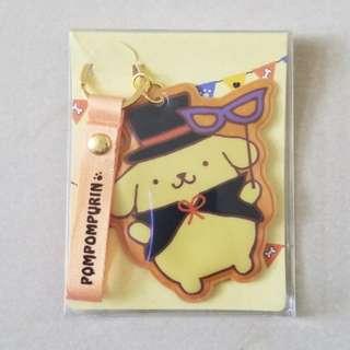 POMPOMPURIN (Key Chain with Mini Card Holder)