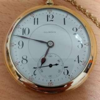 Illinois 1919 vintage watch
