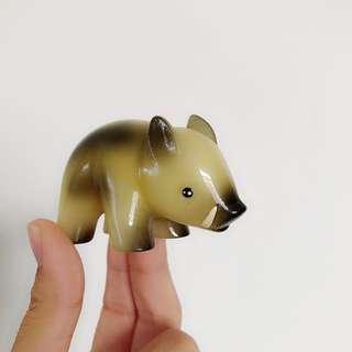 贈品|山豬桌面擺飾