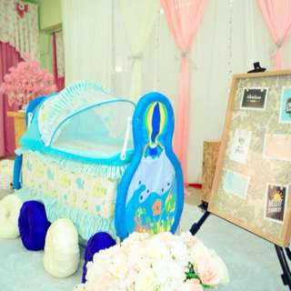 Baby Playpen and Cradle