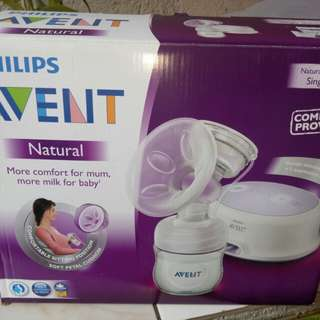 avent single e pump natural complete set