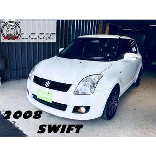 2008  漂亮 SWIFT 白 頂級
