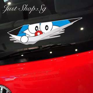 Doraemon Peeking Car Decal/ Sticker