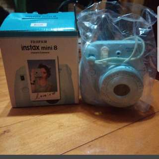 Fujifilm mini8 tiffany 藍