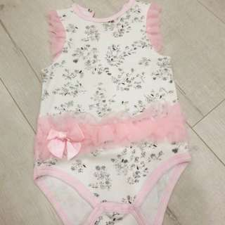 Baby Ballets Lace Romper