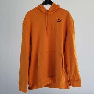Puma originals yellow hoodie