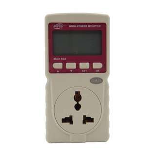 Benetech GM89 Digital LCD Power Meter Monitor wattmeter watt 16A