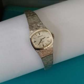 (不議價 Final Price) ➡  Vintage Seiko Rainbow Ladies Watch (Gold Plated) 古董女裝手錶 ➡要抹油維修 Need to repair.
