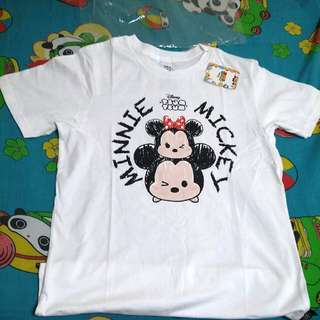 Authentic Tsumtsum Mickey Minnie Tee