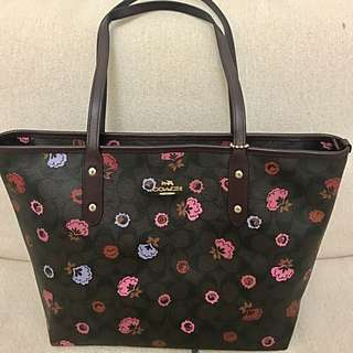 Original Coach Bag with tag price and certificate