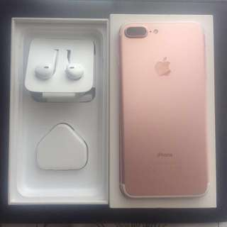 IPHONE 7 PLUS ORI 128 GB ROSEGOLD