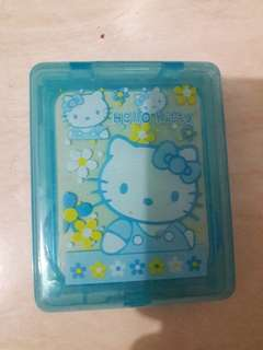 Preloved Kotak Softlens Biru Hellokitty