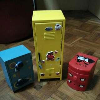 Miniature Shelves And Locker