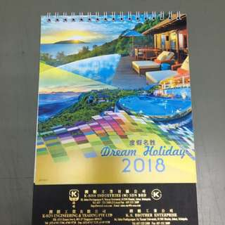 Table calendar 2018(SG & M'SIA PH)