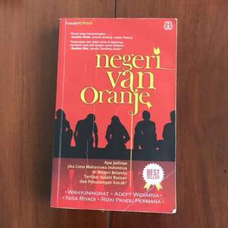Novel Indonesia: Negeri Van Oranje