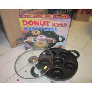 Cetakan Kue Donat Panggang Import Donut Maker Pan Happycall