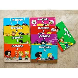 Buku Komik Ilustrasi MAFALDA No. 1-9