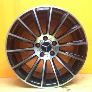 SPORT RIM 18inch MERCEDES AMG NEW DESIGN