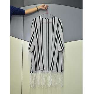 Big Stripe Cardigan