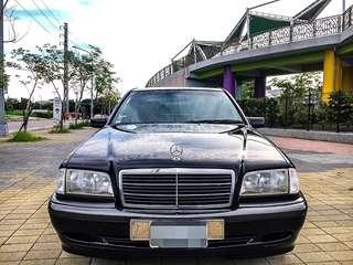 1998年 賓士 BENZ C200 2.0L 無待修 優質老車買這台就對了 可履約保證無重大事故泡水
