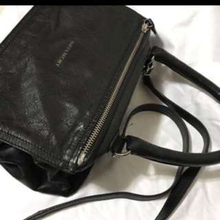 Givenchy pandora small size leather bag