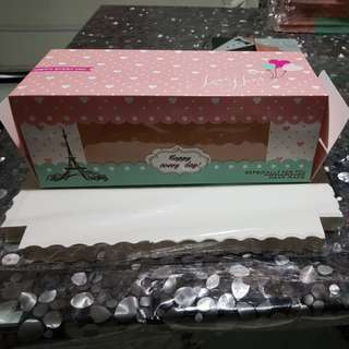 Cake / Cupcakes / Swiss Roll Box