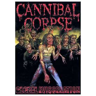 Cannibal Corpse ‎– Global Evisceration DVD
