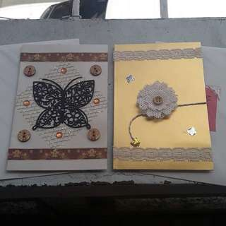 Handmade Custom Greeting Card