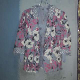 Blazer/outer flower