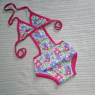 *Repriced Baby One-Piece Swimsuit   12-24 Months
