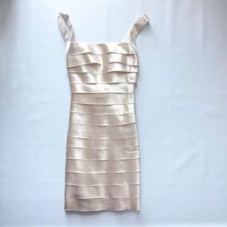 BCBG Satin Dress