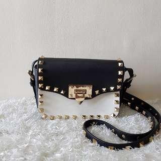 Valentino Rockstud Small Crossbody Sling Bag