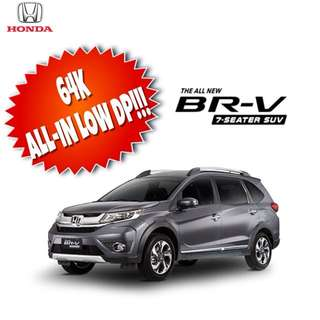 BR-V FOR AS LOW AS 64K ALL-IN PROMO!!!