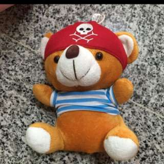 Clearance sale cute pirate teddy bear