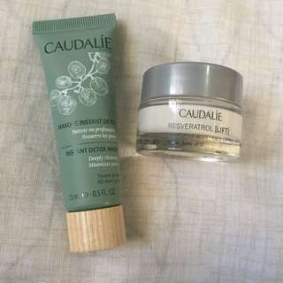 Caudalie Minis: Detox Mask and Resveratrol Lift