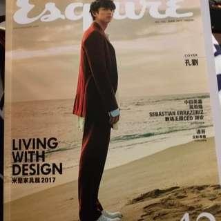孔劉Esquire君子雜誌42期