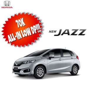 JAZZ FOR AS LOW AS 70K ALL-IN PROMO!!!