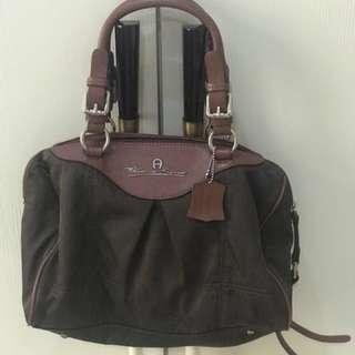 Aigner tote handbag authentic vintage