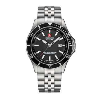 Swiss Military Flagship 06-5161.2.04.007 Men's Stainless Steel Round Watch