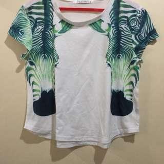 Crop top Hawaiian Shirt