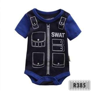 R385-Little SWAT Holabebe Romper