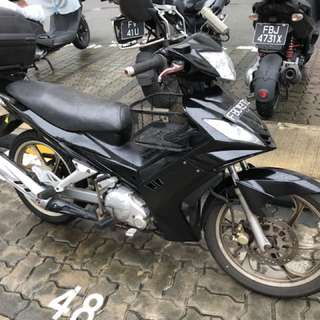 Yamaha spark (clutchless) for rent