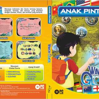 Dvd anak pintar wawasan global