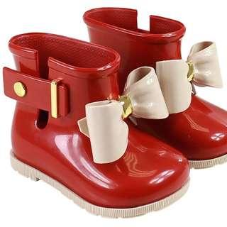 mini melissa sugar rain boots