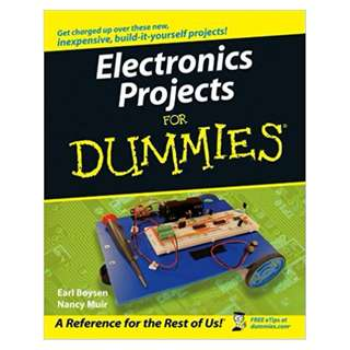 Electronics Projects For Dummies BY Earl Boysen  (Author),‎ Nancy C. Muir (Author)